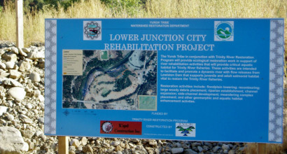 Lower Junction City, Trinity River
